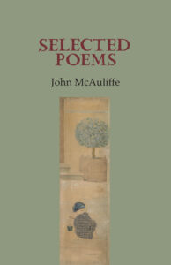Cover Selected Poems by John McAuliffe